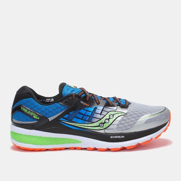 6468e0efb42 Shop Black Saucony Triumph ISO 2 Shoe for Mens by Saucony