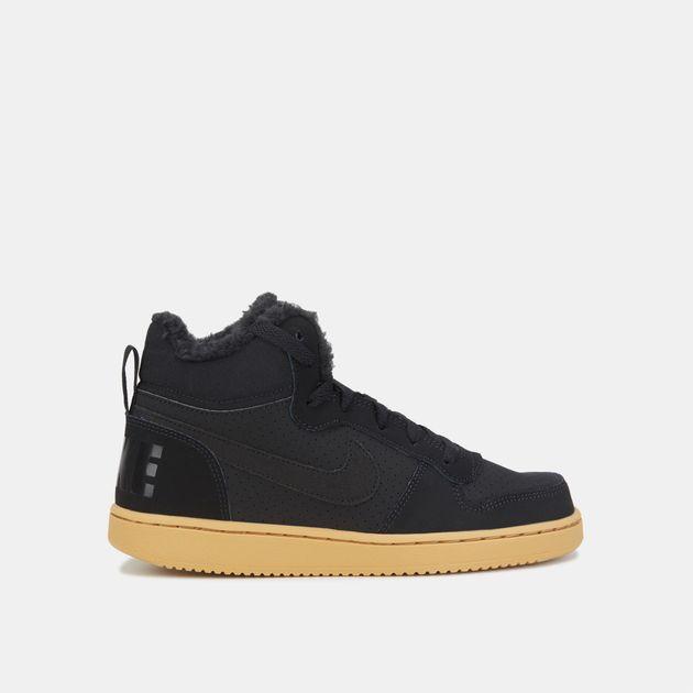 Nike Kids  Court Borough Mid Winter Shoe (Older Kids)  8827ad7be