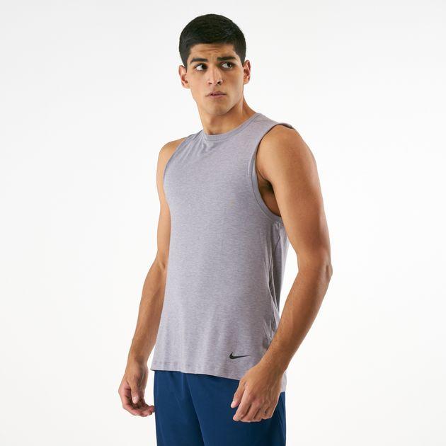 Nike Men S Dri Fit Yoga Training Tank Top Tank Tops Tops Clothing Men S Sale Ksa Sale Sss