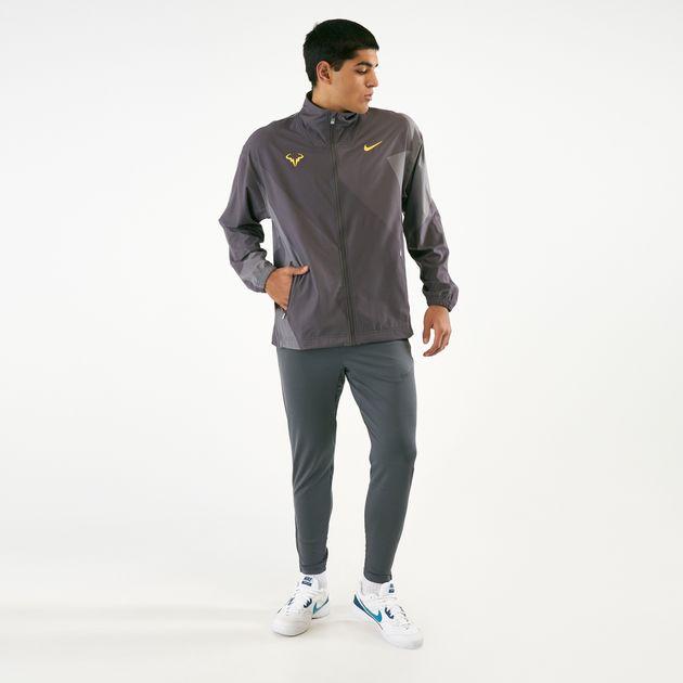 photos officielles 94f3a a2e16 Nike Men's Rafael Nadal Tennis Jacket