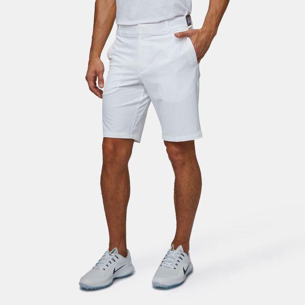 63d9bfa8e916b Shop White Nike Golf Flex Slim Shorts for Mens by Nike Golf
