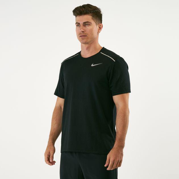 ea0f78df8 Nike Men's Breathe Rise 365 T-Shirt | T-Shirts | Tops | Clothing ...