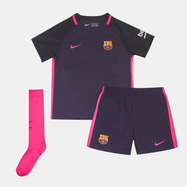 more photos 512c9 408a1 Shop Purple Nike Kids' 2016/17 FC Barcelona Away Stadium ...