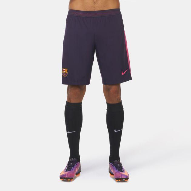 huge selection of 61c4f 967b1 Shop Purple Nike FC Barcelona Away Kit Vapor Match Shorts ...