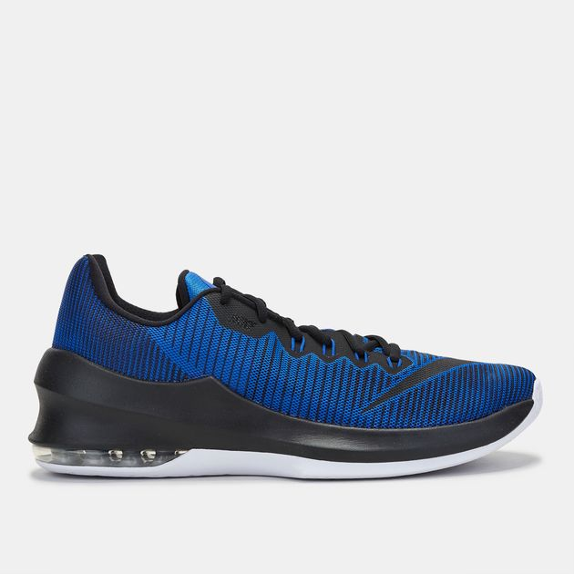Shop Blue Nike Air Max Infuriate 2 Low Basketball Shoe For Mens By