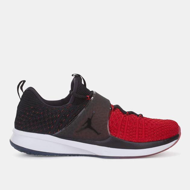 764887a8318798 Shop Red Jordan Trainer 2 Flyknit Training Shoe for Mens by Jordan