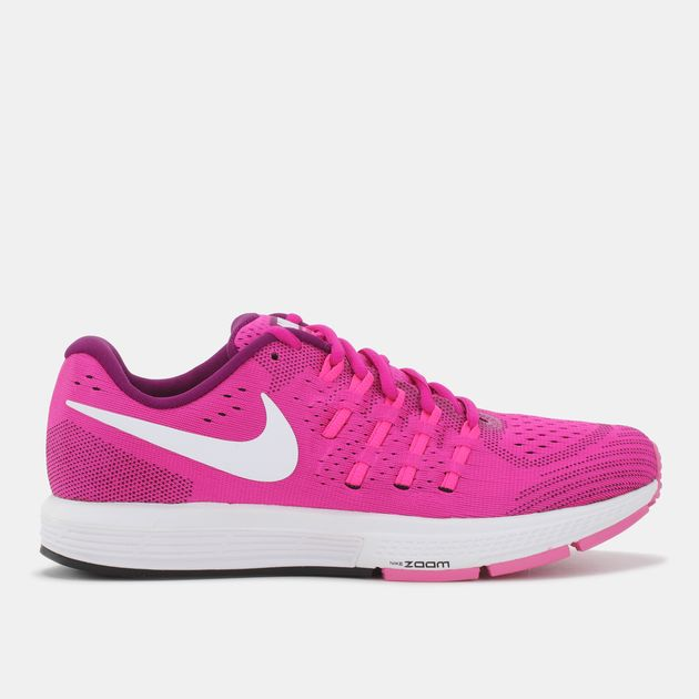 8ad94349ed9 Shop Pink Nike Air Zoom Vomero 11 Running Shoe for Womens by Nike