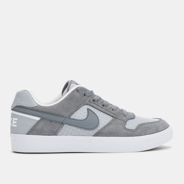 98cde15749ab Shop Grey Nike SB Delta Force Vulc Skateboarding Shoe