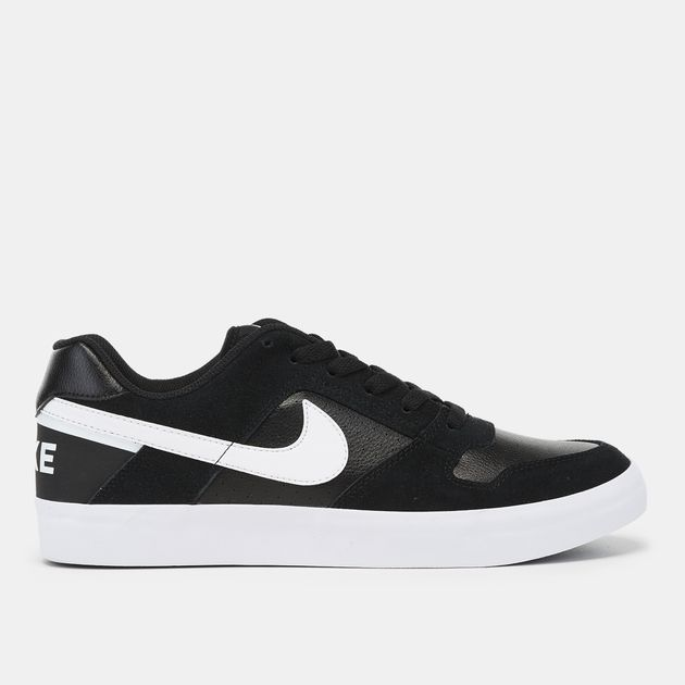 8437fba95d Shop Black Nike SB Delta Force Vulc Skateboarding Shoe | Sneakers ...