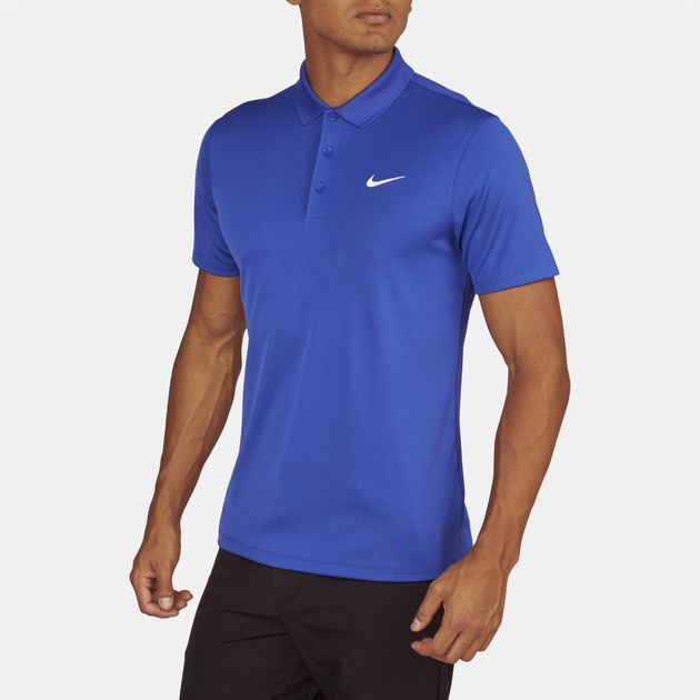 authorized site sale catch Shop Purple Nike Golf Victory Slim Fit Polo T-Shirt for Mens by ...