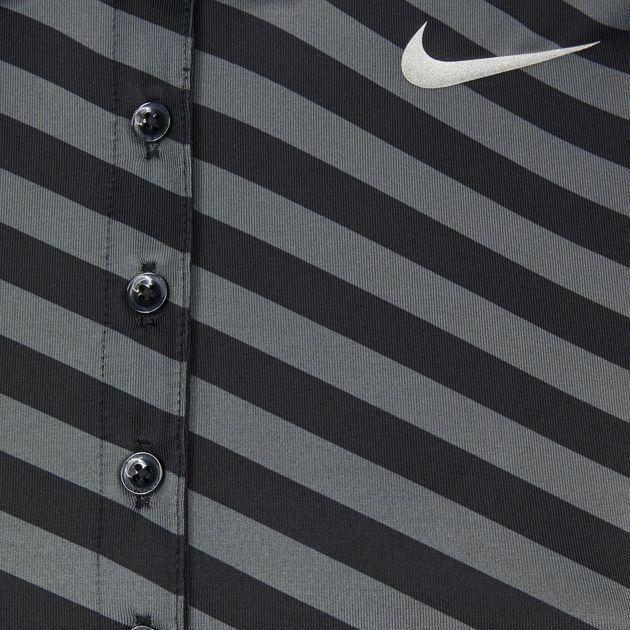 14199a07 Shop Multi Nike Golf Precision Print Sleeveless Polo T-Shirt for ...