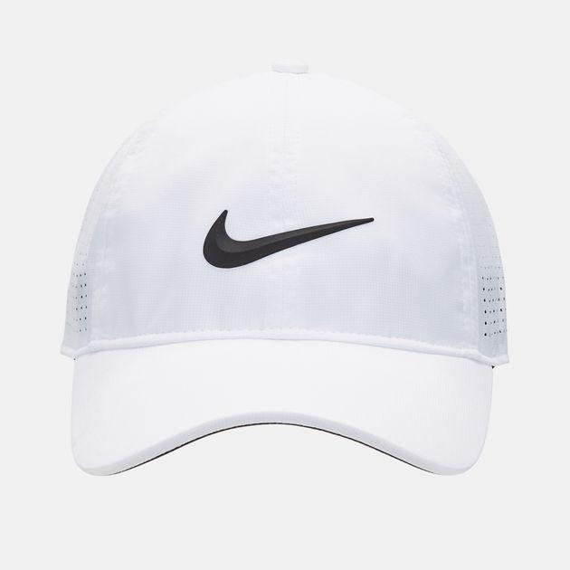 c9f381f3 Shop White Nike Golf AeroBill Legacy 91 Cap for Womens by Nike Golf ...