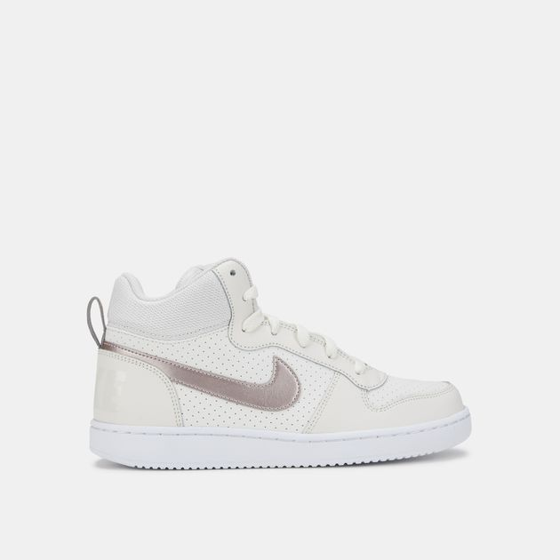 Nike Kids' Court Borough Mid Shoe (Grade School) | Sneakers