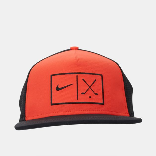 c76fd0c1feaef Shop Orange Nike Golf Pro Mesh Adjustable Cap for Unisex by Nike ...