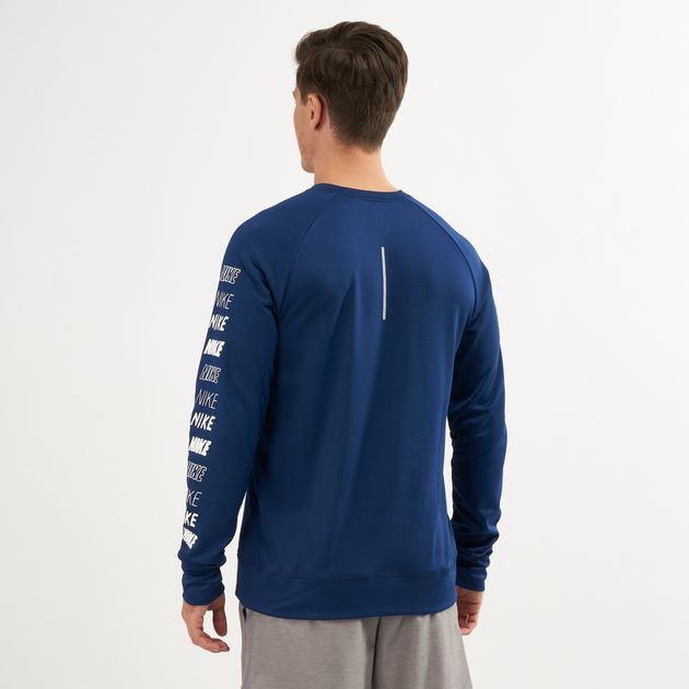 26b2e976 Nike Mens Pacer Long Sleeve Running Top | T-Shirts | Tops | Clothing ...