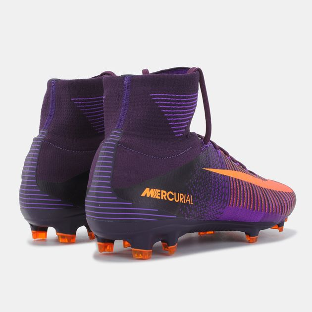 reputable site 0149e 4d81b Shop Purple Nike Mercurial Superfly V Firm Ground Shoe for ...