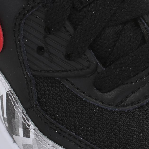 Nike Kids' Air Max 90 Print Mesh Grade School Shoe
