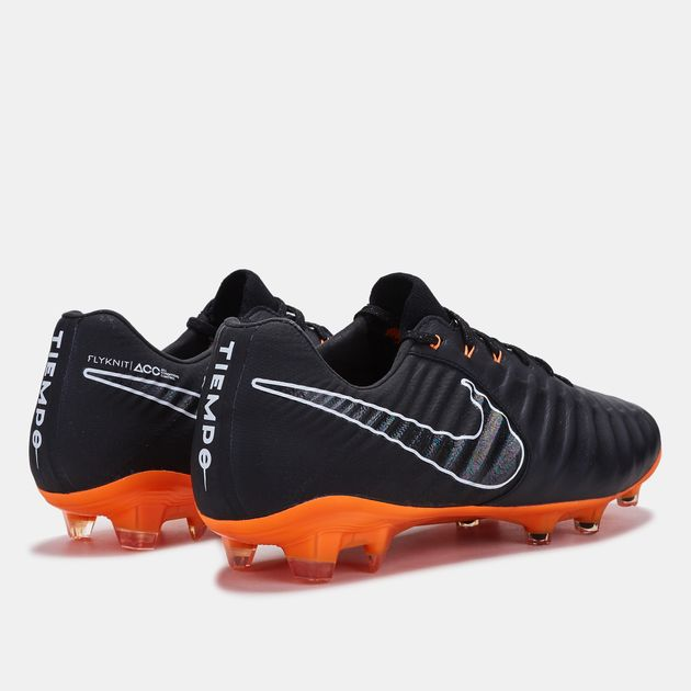 07252f83fed Shop Black Nike Tiempo Legend VII Firm Ground Football Shoe for Mens ...