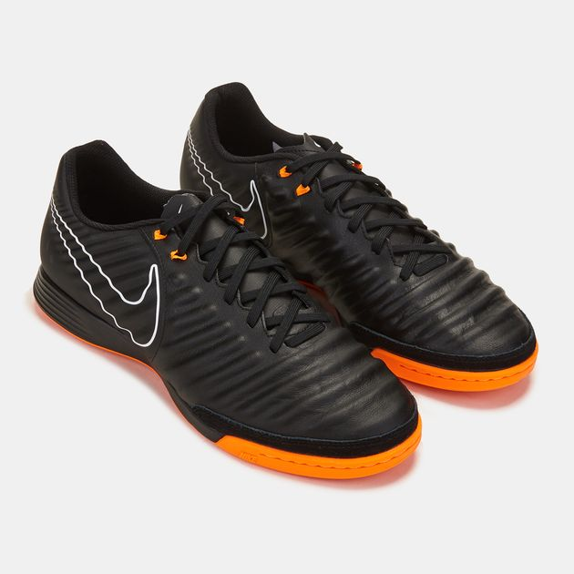 sports shoes f8471 cb991 Shop Black Nike TiempoX Legend VII Academy Indoor Court ...