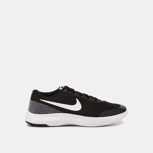 b0e1733d3c1 Shop Black Nike Kids  Flex Experience Run 7 Running Shoe (Grade ...