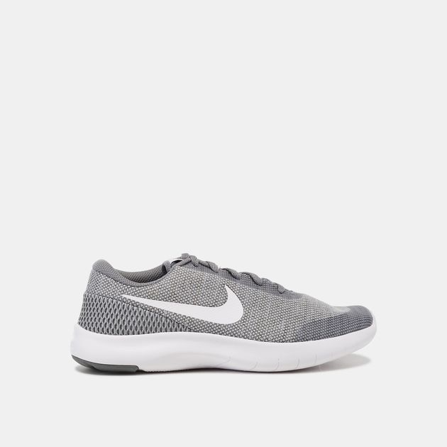 7ead103c83db Shop Grey Nike Kids  Flex Experience Run 7 Running Shoe (Grade ...