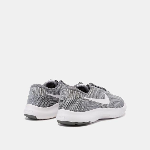 1af557d7aef Shop Grey Nike Kids  Flex Experience Run 7 Running Shoe (Grade ...