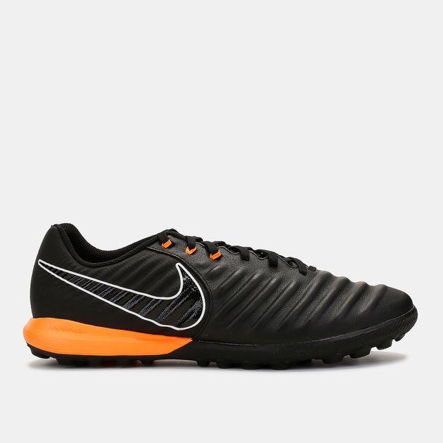 Shop Black Nike Tiempo Lunar LegendX 7 Pro Turf Football Shoe for ... 2b04bcad9