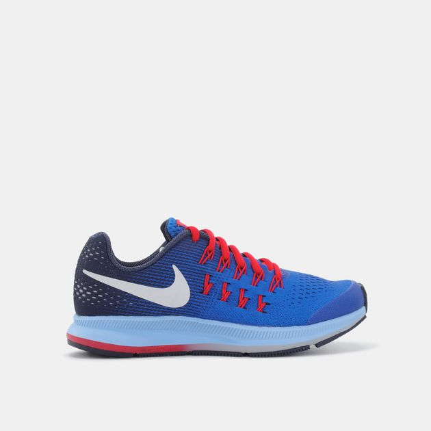 d04e0a4f2c34 Shop Blue Nike Kids  Air Zoom Pegasus 33 Running Shoe for Kids by ...