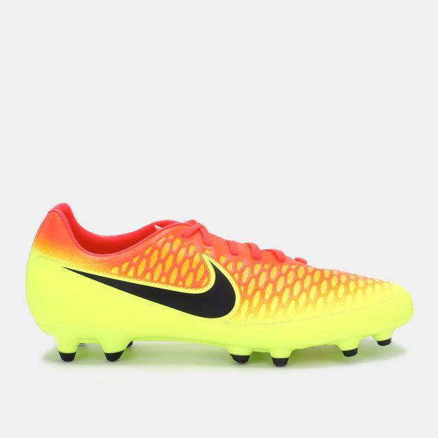 56baf8778604 Shop Orange Nike Magista Onda Firm Ground Shoe for Mens by Nike