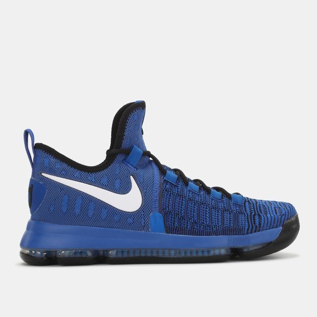 7872390ee412 Shop Blue Nike Zoom Kevin Durant 9 Shoe for Mens by Nike