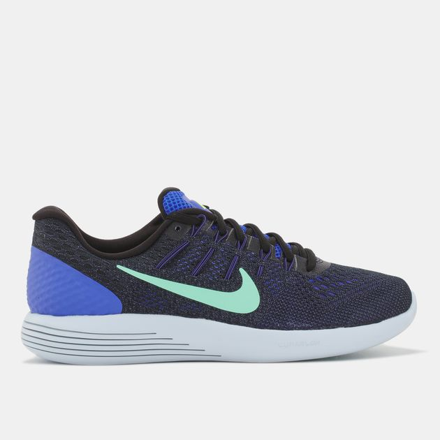 ramasser 13858 04ba9 Shop Black Nike LunarGlide 8 Running Shoe for Womens by Nike ...