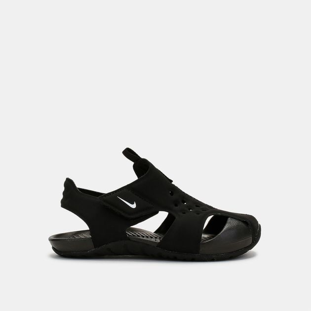 6d2a459f12b70 Shop Black Nike Kids' Sunray Protect 2 Sandals for Kids by Nike | SSS