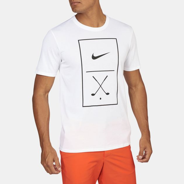 471bd94d3 Shop White Nike Golf Graphic T-Shirt for Mens by Nike Golf | SSS