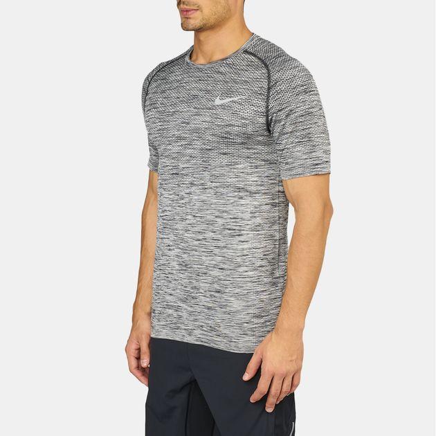 93148a18 Shop Black Shop Black Nike Dri-FIT Knit T-Shirt exclusive for Mens ...