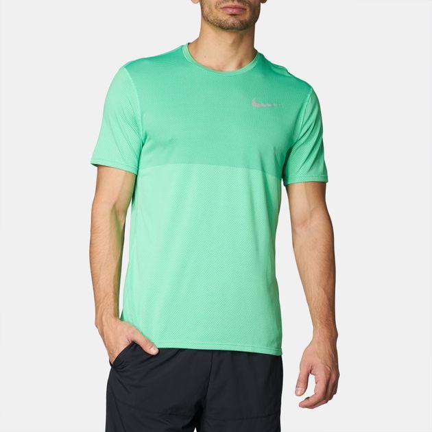 Mens NIKE RUNNING ZONAL COOLING Dri Fit Shirt Size Medium