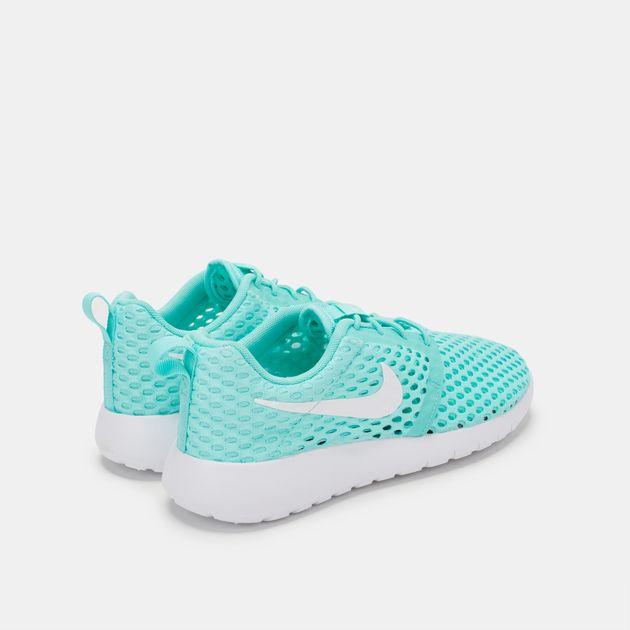 dfa5fad4e30a Shop Green Nike Kids  Roshe One Flight Weight Grade School Shoe for ...