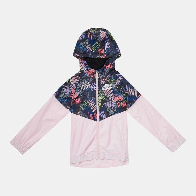 d67766b7 Nike Kids' Sportswear Windrunner Allover Print Jacket (Older Kids), 929168