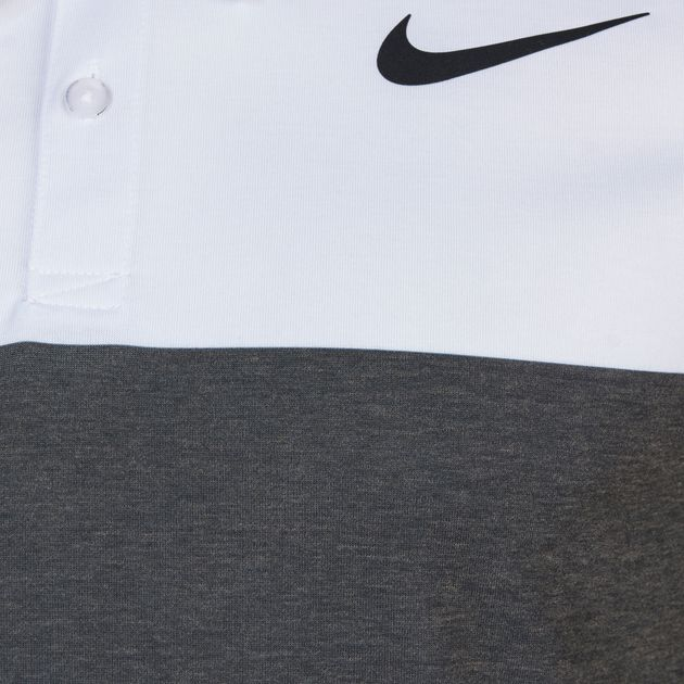 Shop White Nike Golf Modern Fit Transition Dry 4/1 Printed