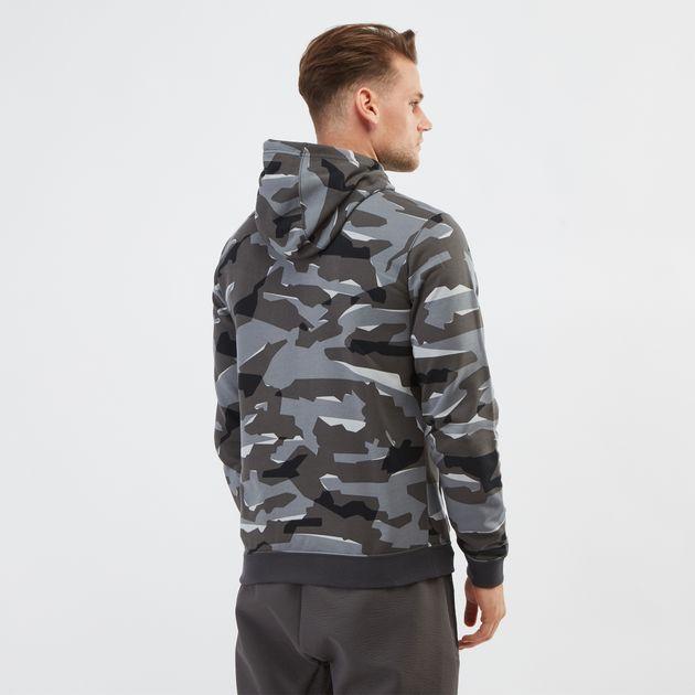 Nike Men's Sportswear Camo Club Fleece Hoodie