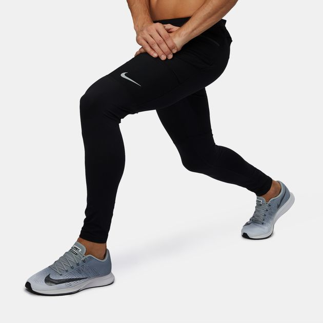 Shop Black Nike Utility Running Pants for Mens by Nike  2f161c615