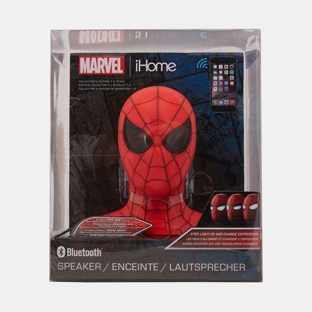 82ac197a62db iHome Kids  Kiddesigns Animated Eyes Marvel Spider-Man Bluetooth Speaker -  Multi