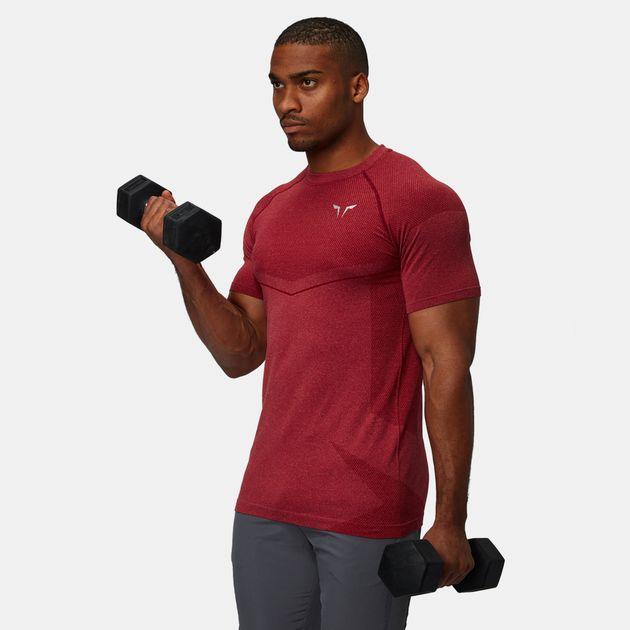 Squat Wolf Seamless Dry-Knit Training T-Shirt