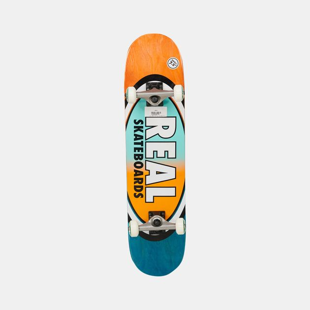 Real Oval Two Fades Complete Skateboard – 7.5