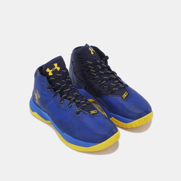 Shop Blue Under Armour Kids  Grade School UA Curry 2.5 Basketball ... 6a0dc4193f