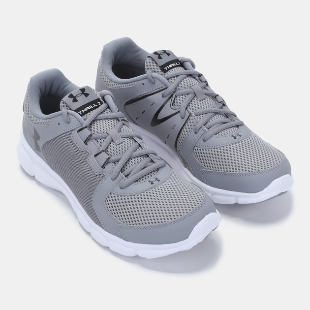 purchase cheap c0bb8 76824 Shop Grey Under Armour Thrill 2 Shoe for Mens by Under ...