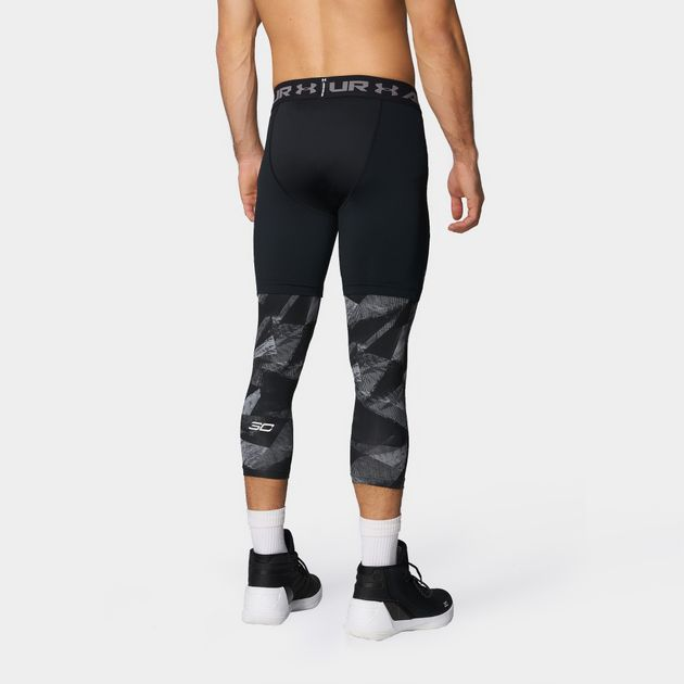 00aec83e87792 Shop Black Under Armour™ SC30 3/4 Basketball Tights for Mens by ...