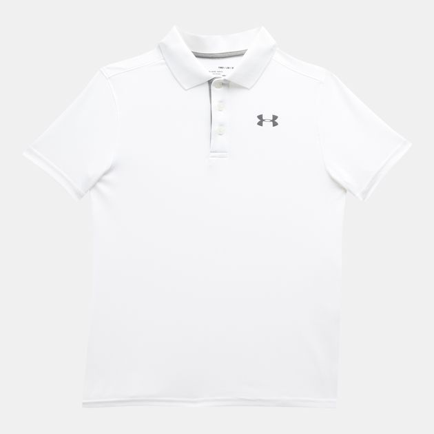 195a1588 Under Armour Kids' Performance Polo T-Shirt (Older Kids) | Polo ...