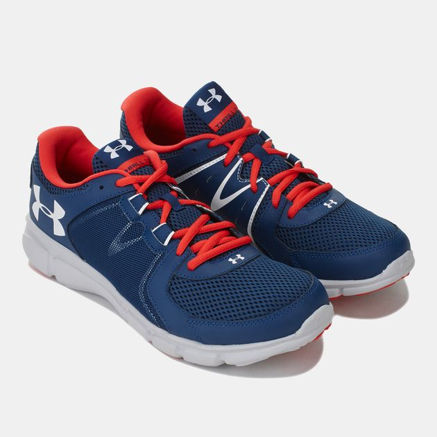 quite nice 4ae91 26fb2 Shop Blue Under Armour Men's Thrill 2 Running Shoes for Mens ...