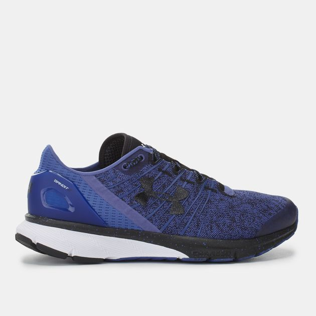 new product 0cfd9 aee2c Shop Blue Under Armour Charged Bandit 2 Shoe for Womens by ...