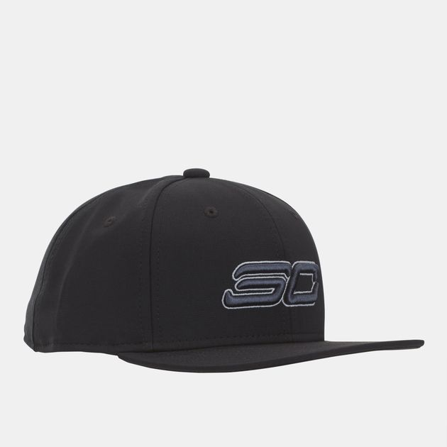 5f84efe9a8a Shop Black Under Armour Kids  SC30 Core Snapback Cap for Kids by ...